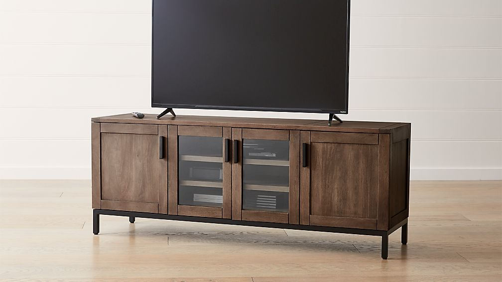 Wyatt Grey 72 Quot Media Console Reviews Crate And Barrel