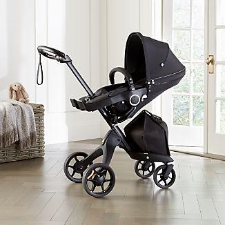 Stokke® Black Xplory 6 Stroller