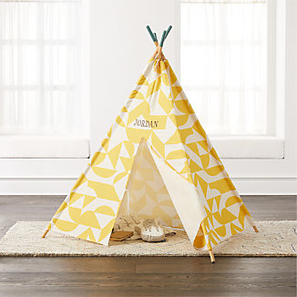 Geometric Yellow Teepee