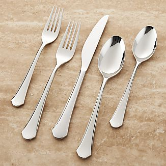 York Mirror 20pc Flatware Set