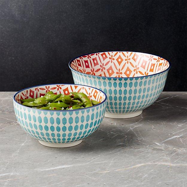 Yuki Aqua Bowls - Image 1 of 8