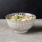 Yuki Grey Noodle Bowl 7.5