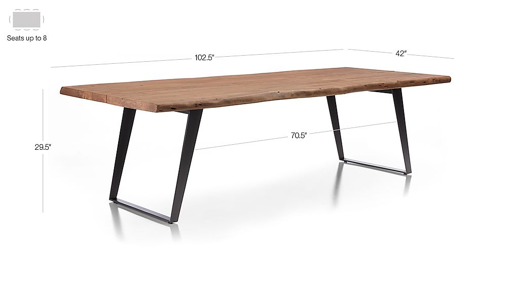 Yukon Dining Tables Crate And Barrel