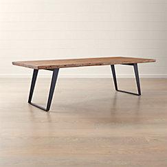 Yukon Natural Dining Tables Crate And Barrel