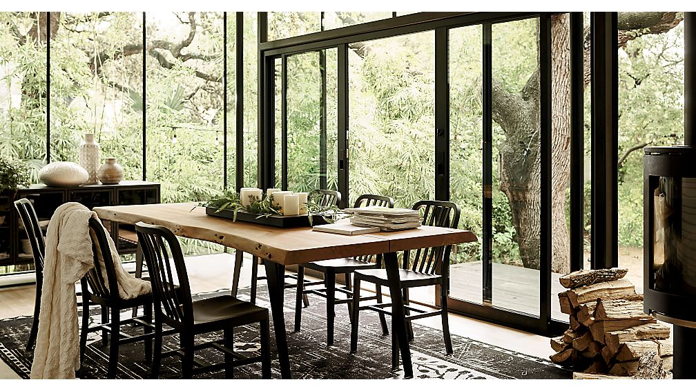 Yukon 102 Quot Dining Table In Dining Tables Reviews Crate
