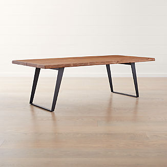 Solid Wood Dining Tables Crate And Barrel
