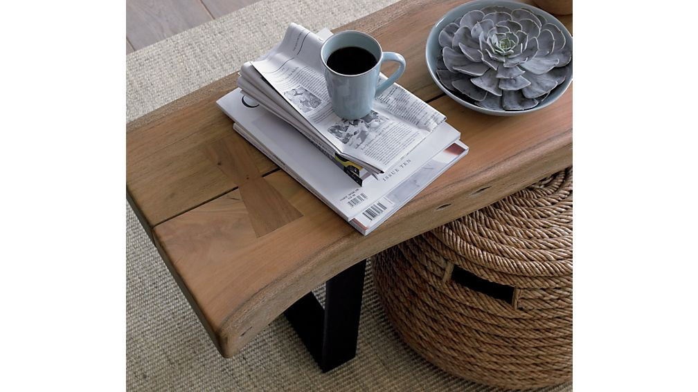 Yukon Large Coffee Table-Bench