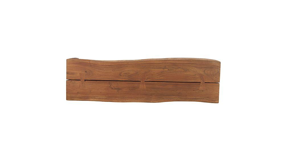 Yukon Entryway Bench with Shelf