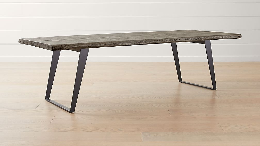 Yukon Grey 102 Quot Dining Table Reviews Crate And Barrel