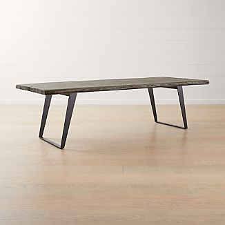 Live Edge Dining Tables Crate And Barrel