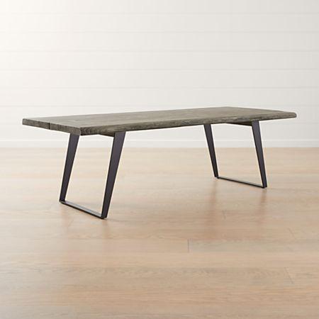 Yukon Grey 92 Dining Table