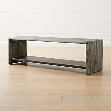 Groovy Entryway Benches With Storage Crate And Barrel Caraccident5 Cool Chair Designs And Ideas Caraccident5Info