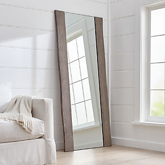 Floor, Wall and Over-the-Door Mirrors | Crate and Barrel
