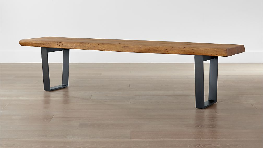 Wood Bench Coffee Table