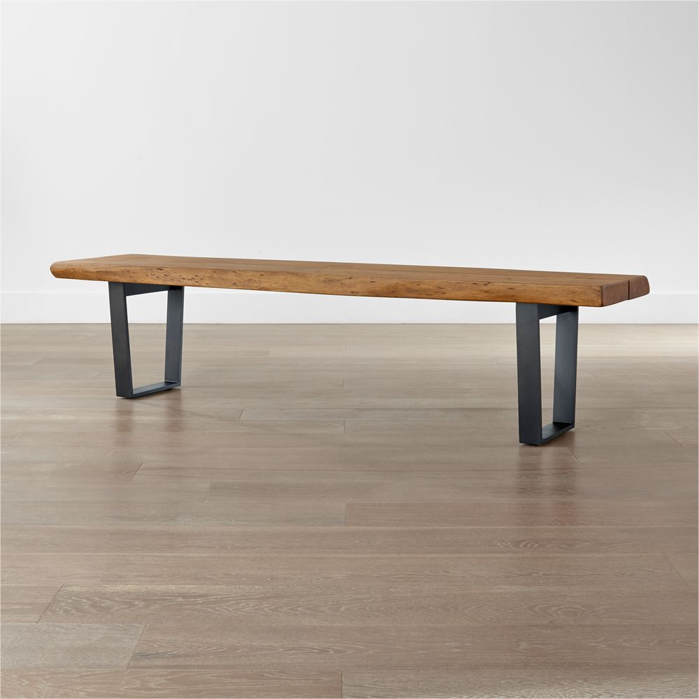 Yukon Large Coffee Table-Bench - Crate and Barrel