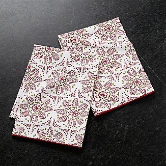Yuletide Dish Towels, Set of 2
