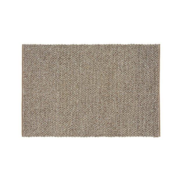 Yvonne Grey Wool-Blend 4'x6' Rug