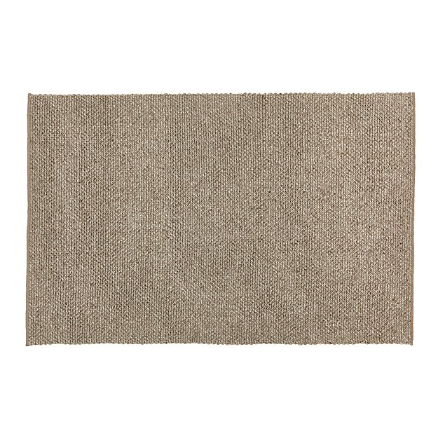 Yvonne Grey Wool Blend 8 39 X10 39 Rug Crate And Barrel