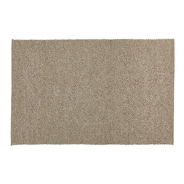 Yvonne Grey Wool-Blend 6'x9' Rug