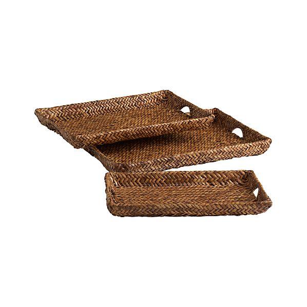 Set of 3 Zambales Trays