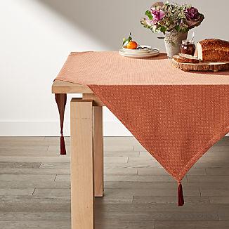 "Zayn 50"" Rust Table Throw"