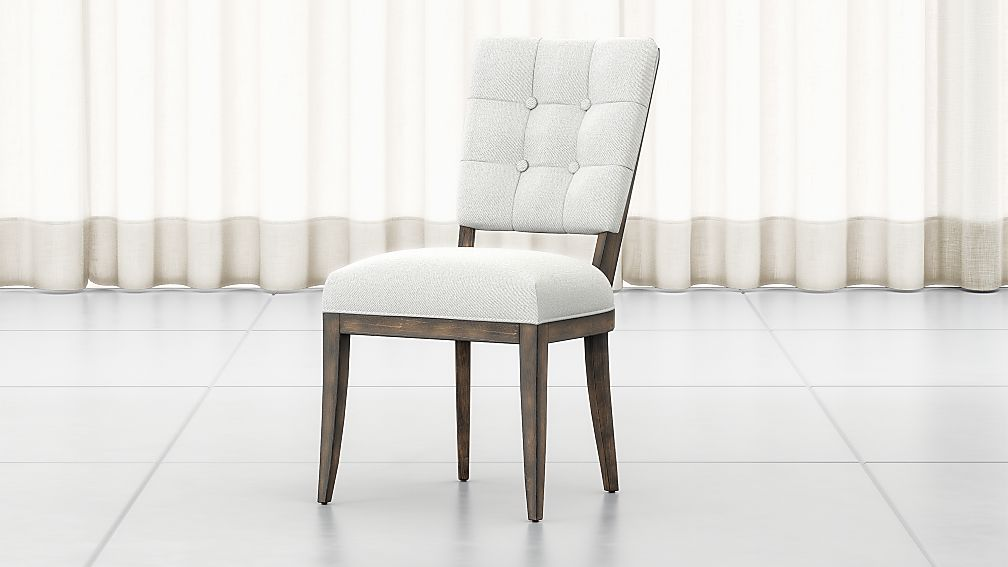Zella Button-Tufted Dining Chair - Image 1 of 9