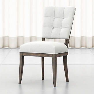 Zella Button-Tufted Dining Chair