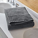 Zero Twist Quick Dry Dark Grey Bath Sheet