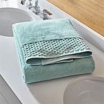 Zero Twist Quick Dry Spa Blue Bath Sheet