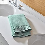 Zero Twist Quick Dry Spa Blue Hand Towel