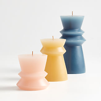 Ziggy Pillar Candles