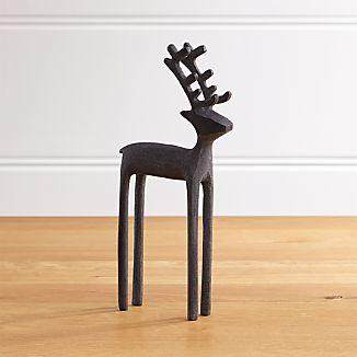"""10.5"""" Zinc Reindeer"""