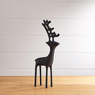"""21"""" Zinc Reindeer"""