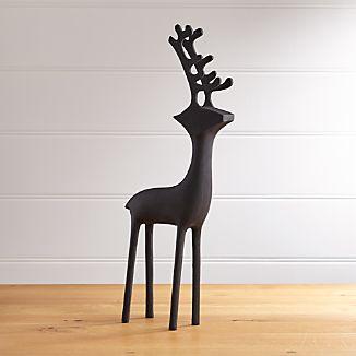 """25"""" Zinc Reindeer"""