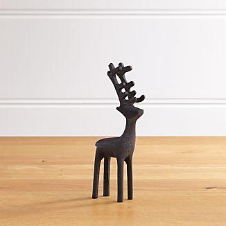 """8"""" Zinc Reindeer"""