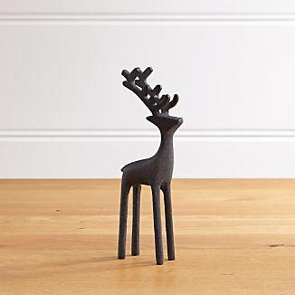 """9"""" Zinc Reindeer"""