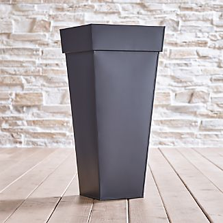 Zinc Tall Square Planter