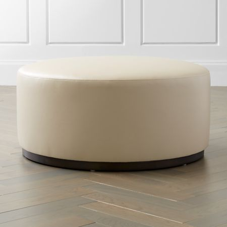 Astounding Zoey Leather Cocktail Ottoman Cjindustries Chair Design For Home Cjindustriesco