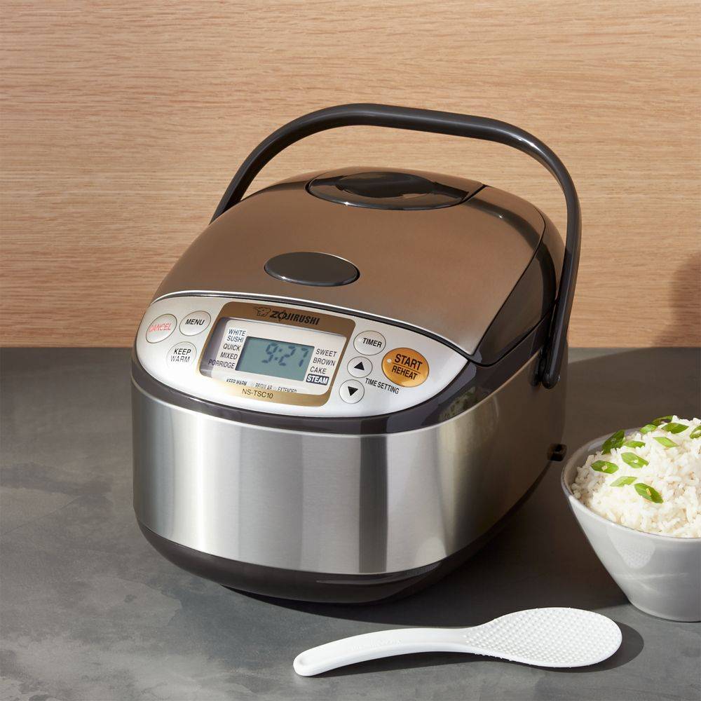 Zojirushi ® 5.5-Cup Rice Cooker - Crate and Barrel