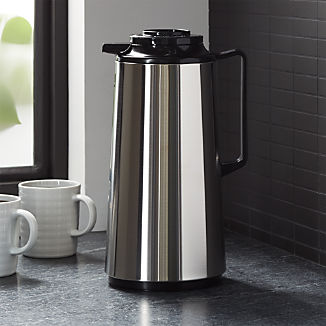 Zojirushi Stainless Steel 1.9-Liter Thermal Carafe with Brew-Thru Lid