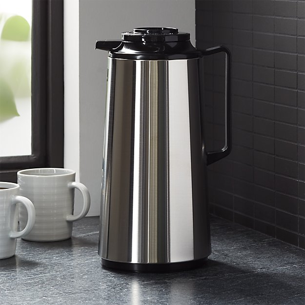 Zojirushi Stainless Steel 1.9-Liter Thermal Carafe with Brew-Thru Lid - Image 1 of 2
