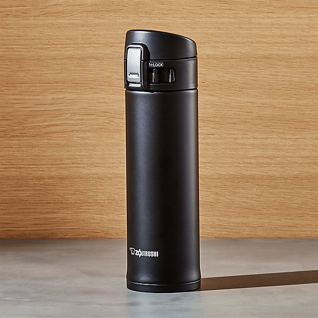 Zojirushi Black 16 Oz Travel Mug Crate And Barrel