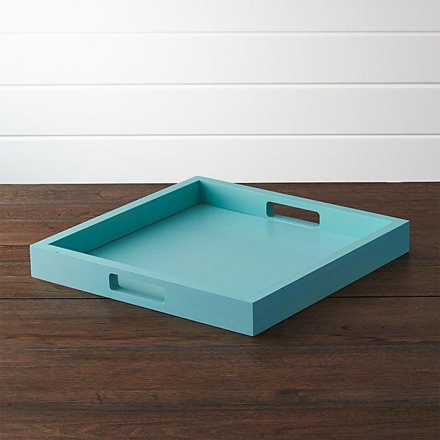 Completely new Zuma Aqua Sky Tray + Reviews | Crate and Barrel FO81