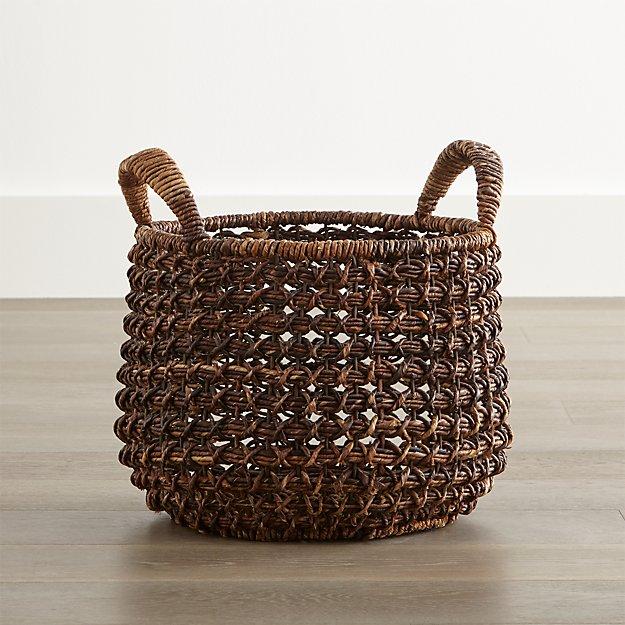 Medium Zuzu Basket with Handle