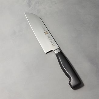 "ZWILLING ® J.A. Henckels Four Star 6"" Santoku Knife"