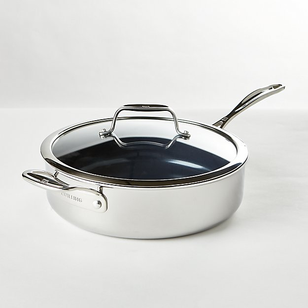 ZWILLING ® J.A. Henckels Clad Xtreme 5-Qt. Ceramic Sauté Pan with Lid - Image 1 of 3