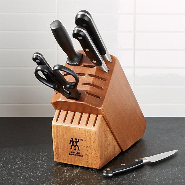ZWILLING ® J.A. Henckels Pro 7-Piece Knife Set