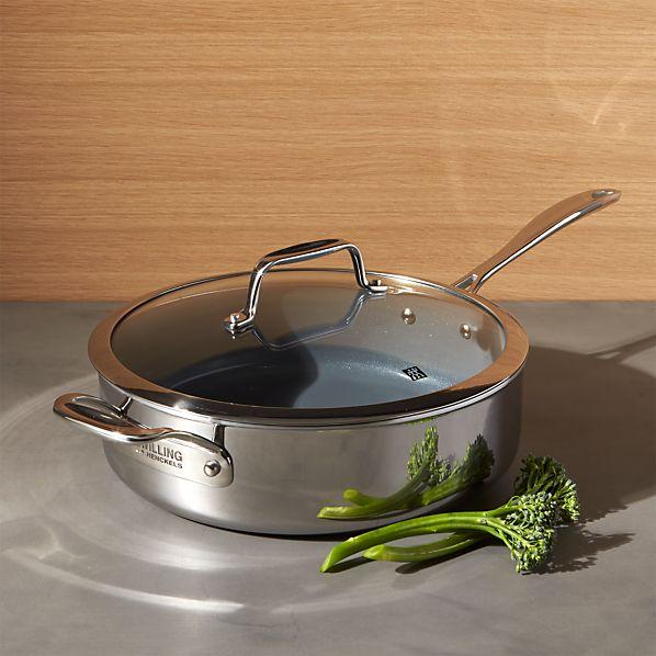 ZWILLING ® J.A. Henckels VistaClad Ceramic Non-Stick 5 qt. Sauté Pan with Lid