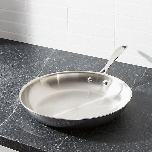 "ZWILLING ® J.A. Henckels VistaClad Stainless Steel 12"" Fry Pan"