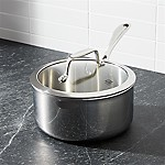 ZWILLING ® J.A. Henckels VistaClad Stainless Steel 3 qt. Saucepan with Lid